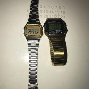 Casio and Timex Watch Bundle